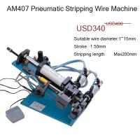 Buy cheap AM407  4 core pvc cable stripper machine semi-automatic from wholesalers