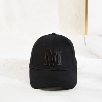 Unisex Six Panels Cotton Fabric 60cm Embroidered Baseball Caps Manufactures