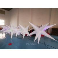 Buy cheap Oxford Cloth LED Inflatable Star With Color Light For Event Decoration from wholesalers
