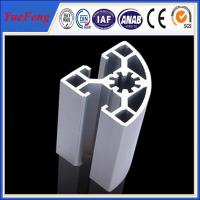 6000 series industrial aluminum alloy profile for shelf/cabinet Manufactures