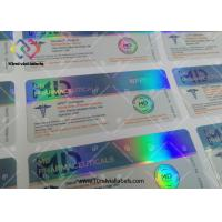 Custom Design Adhesive Medication Label Stickers Hologram Vial Labels Steroids Packing Manufactures