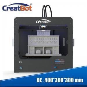 Quality Creatbot DE Plus XYZ 3D Printer , Multicolor High Definition 3d Printer for sale