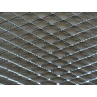 Iron Board Expanded Steel Mesh Sheets , ISO9001 Expanded Steel Grating Manufactures