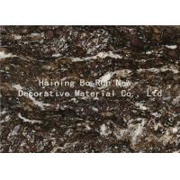 Quality Dark Colored Indoor PVC Ceiling Film Marble Effect Heat Insulation for sale