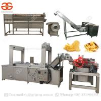 China Automatic Potato Chips Production Line Frozen French Fries Making Machine on sale