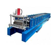 Steel Joint Hidden Wall Panel Cold Roll Forming Machine Low Noise PLC Control Manufactures
