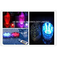 Wireless Changing LED Submersible Light For Vase / Aquarium Decoration Manufactures