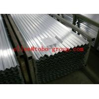TOBO STEEL Group 316 Stainless Steel Angle Bar AN 8550 Size: 50×50×6MM×6M Thickness: +/- 0.02mm Manufactures