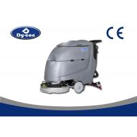 Solution Level Checking Hose Compact Floor Scrubber Machine , Electric Floor Scrubbers Manufactures