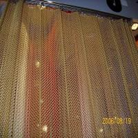 China Decorative Mini Chain Link Mesh Curtain / Window Curtain on sale