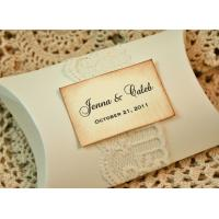 China Small Paper Pillow Gift Boxes Wholesale on sale