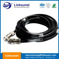Black Wire Harness Assembly DDK CM09 - S25P Teaching Robot Harness 8M / 12M / 15M Manufactures