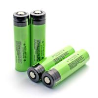 Genuine Panasonic NCR18650B 3400mah 3.7 volts rechargeable lithium battery protection with button top Manufactures