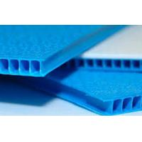 China Industrial Plastic Fluted Board PP Fluteboard For Printing / Packing / Protection on sale