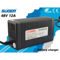 Suoer Car Battery Charger 12A Electric Car Battery Charger 48V with Three Step Charging Mo Manufactures
