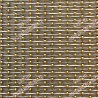 stainless steel Architectural wire mesh facade,decorative woven wire mesh Manufactures
