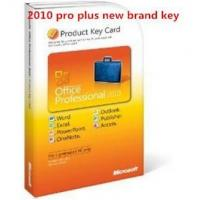 Microsoft Office 2010 Product Key Card For Microsoft Office 2010 Professional Plus Manufactures
