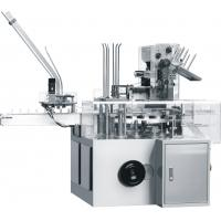 Touch Screen Operation Automatic Cartoning Machine 80~150pcs / Min Speed Manufactures