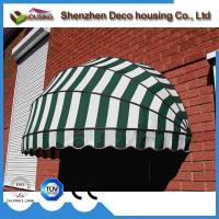 Quality Manual window dome awning/Half round awning/Aluminum awning window for sale