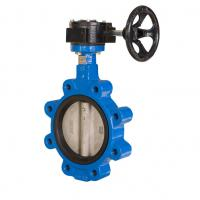 China Standard Size Concentric Butterfly Valve Double Flanged Butterfly Valve on sale