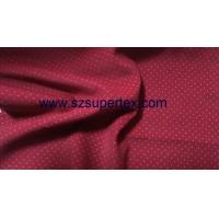China 21W Cotton Corduroy Velvet Fabric with Pigment Dot Print Soft Handfeel without Wash on sale