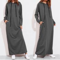 China Long Sleeve Plus Size Ladies Shirts Long Hoodie Dress For Girls Eco Friendly on sale