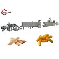 Cheese Ball Puffed Corn Snack Making Machine Inverter Speed Controlling Manufactures