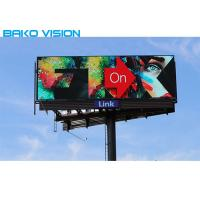 China P8 P10 SMD Outdoor Fixed LED Display RGB Aluminum LED Panel For Commercial Advertising on sale