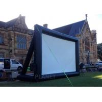China Multipurpose Inflatable Movie Screen Logo Printing Customized Design on sale