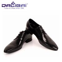 DALIBAI Luxury Pointed Toe Men Leather Dress Shoes Classic Business Shoes Manufactures