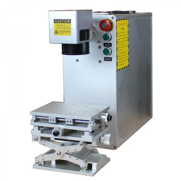 Quality Industrial Desktop Fiber Laser Marking Machine , 30 Watt Fiber Laser Engraver for sale
