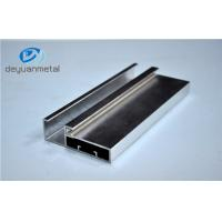 5.98 Meter Silver Polishing Aluminium Extruded Aluminium Profiles For Decoration With Cutting Manufactures