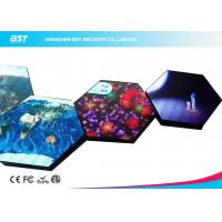 Front Servicing Flexible LED Panel Video Screen , RGB Foldable LED Screen Manufactures