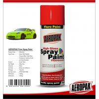 China High Gloss Car Paint Aerosol Cans / Scratch Resistant Quick Dry Spray Paint on sale
