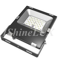 Slimline 30 Wattage Outdoor LED Flood Lights Meanwell Driver Integrated Housing Manufactures
