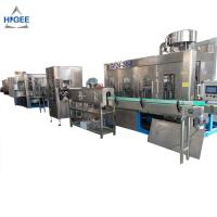 Glass Bottle Automatic Water Filling Machine Medical Alcohol Filling Machine Manufactures