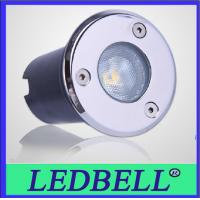 1W IP67 Led Inground Light , Underground Led Lamps For Garden , Lawn Manufactures
