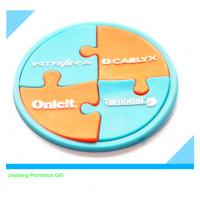factory direct selling  3D soft PVC coaster Manufactures