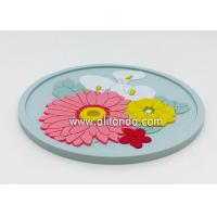OEM Wholesale Custom Soft Rubber PVC Coaster for promotional gifts Manufactures