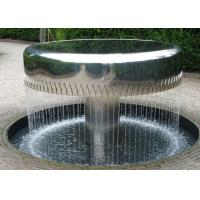 China Professional Stainless Steel Water Feature Fountains Mirror Polishing on sale