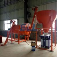 Sand Powder Double Paddle Spiral Dry Mortar Mixer With Double Ribbon Blender Manufactures