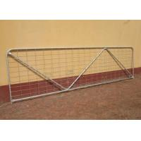 China Robust Portable Welded Wire Mesh Fence Metal Farm Gates Modern Style on sale