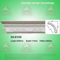 Fashion carved pu crown moldings
