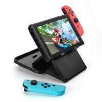 Black Multi Angle Game Console Holder / Playstand For Nintendo Switch Manufactures