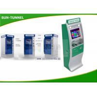 China Hotel / Government Card Dispenser Kiosk Cash Payment Machine 1280 X 1024 Resolution on sale