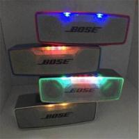portable Wireless bluetooth S815 speaker BOSE soundlink mini speakers with led lights Manufactures