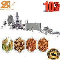 China Twin Screw Extruder Machine Puffing Machinery Plant With Flexible Design Based on sale