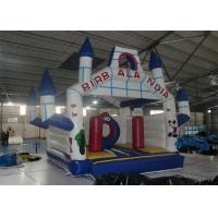 Cartoon Style Inflatable Bouncer , Outdoor Used Commercial Inflatable Bouncers For Sale Manufactures