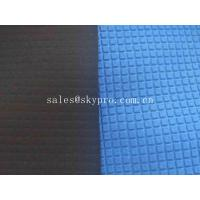 China Heat Resistant SBR Neoprene Rubber Sheet Coated Stretch Polyester Nylon Fabric on sale