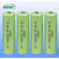 Rechargeabl Ni-MH Battery AA  2000MAH 1.2V Manufactures